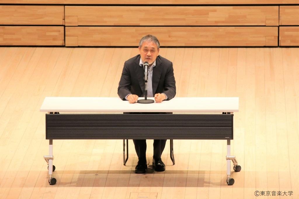 2019年10月6日(日)開催 オープンキャンパス 野島稔学長のメッセージ