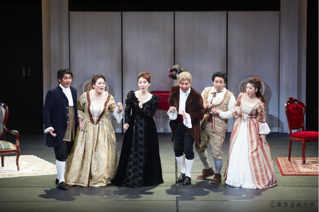 大学院オペラ試演会のレポートを掲載しました