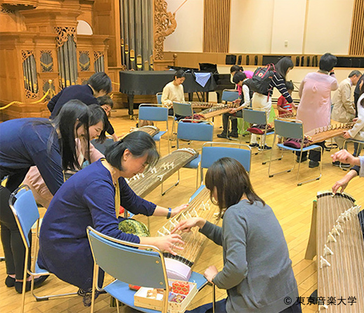 東アジア文化都市2019豊島パートナーシップ事業「楽器でつむぐ東アジアの未来」