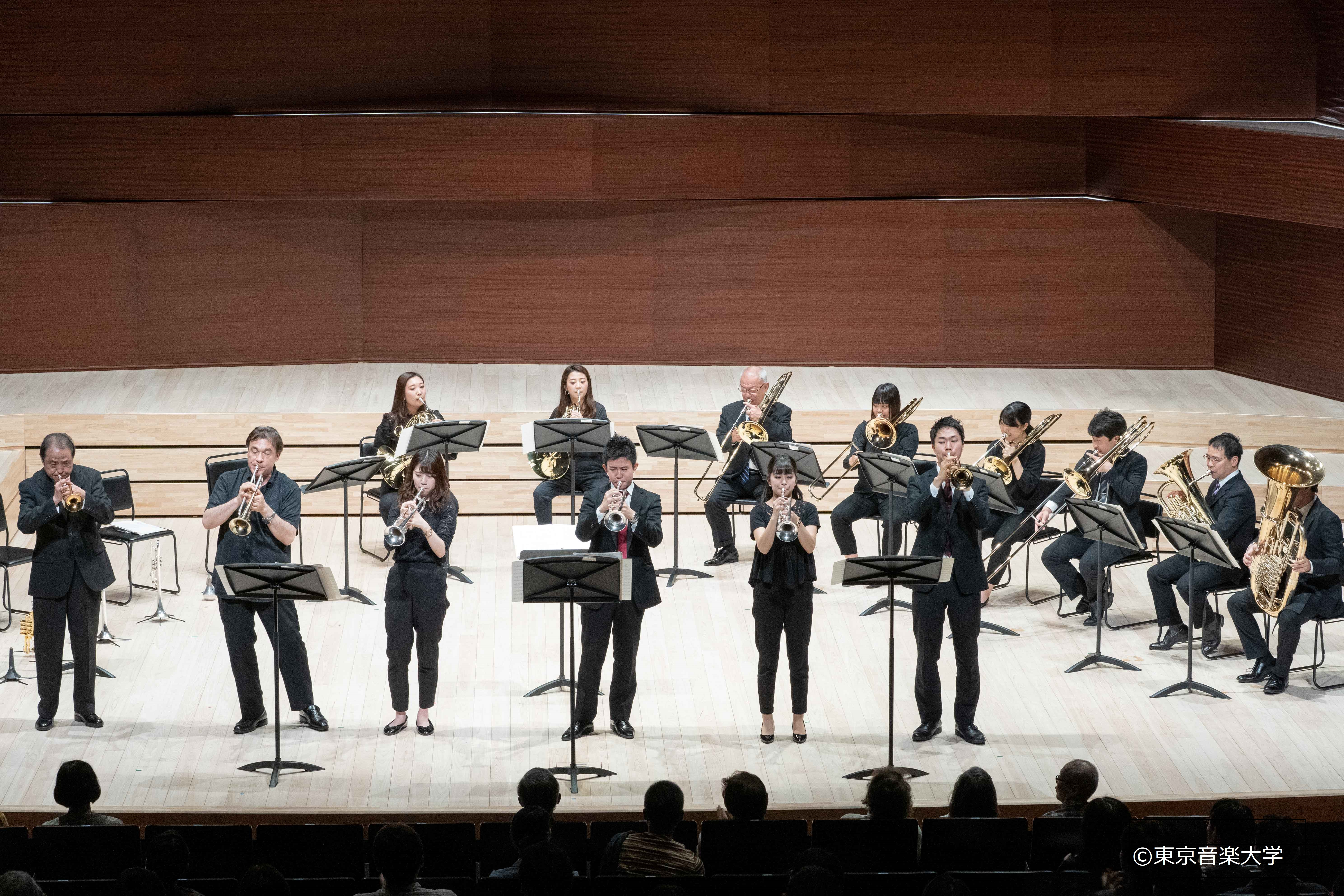 東京音楽大学創立111周年記念演奏会シリーズ 管打楽器部会主催 金管ソロ・室内楽演奏会が開催されました