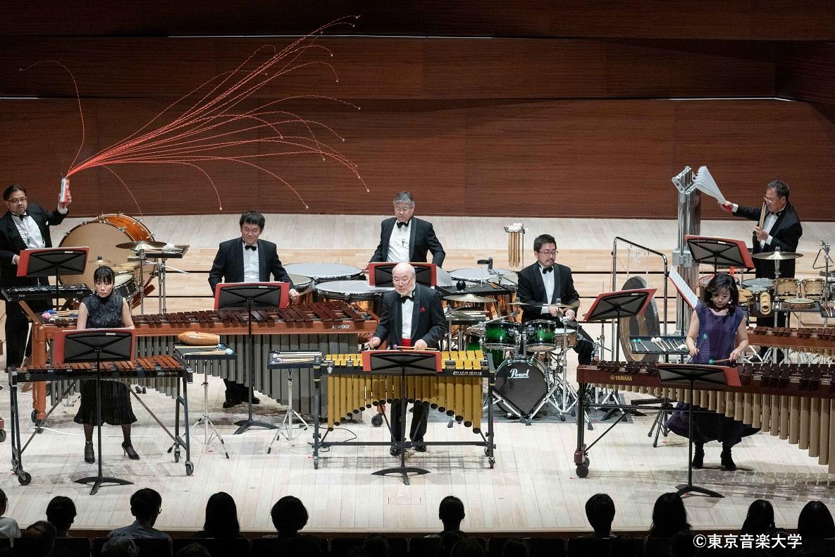 東京音楽大学創立111周年記念演奏会シリーズ管打楽器部会主催 打楽器教員による「打楽器の祭典」が開催されました