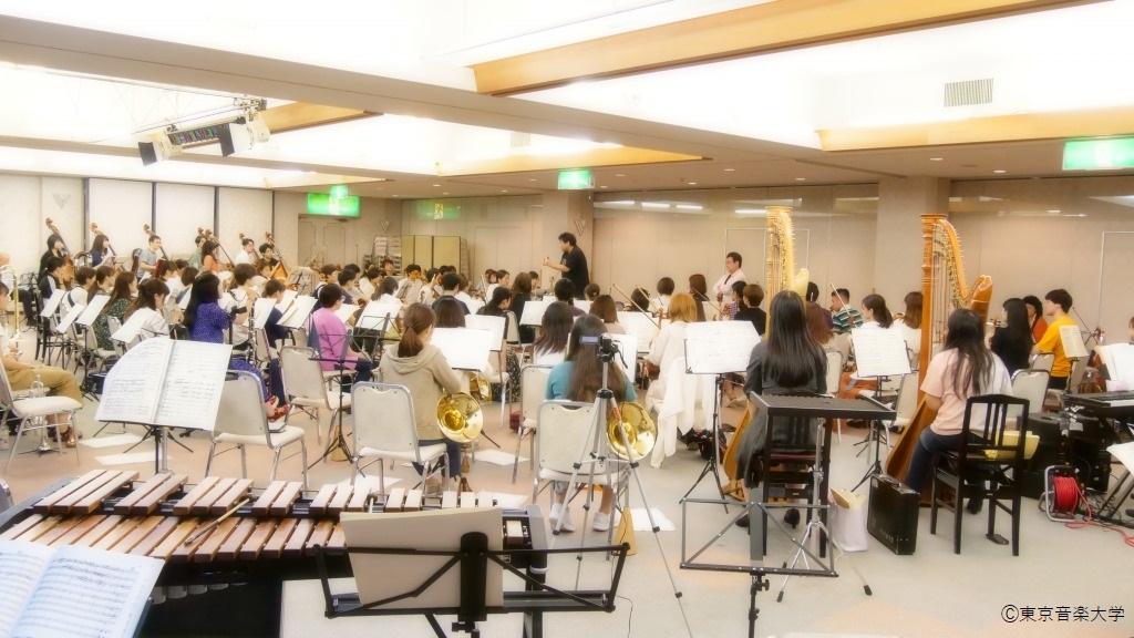 シンフォニ―オーケストラ合宿のレポートを掲載しました