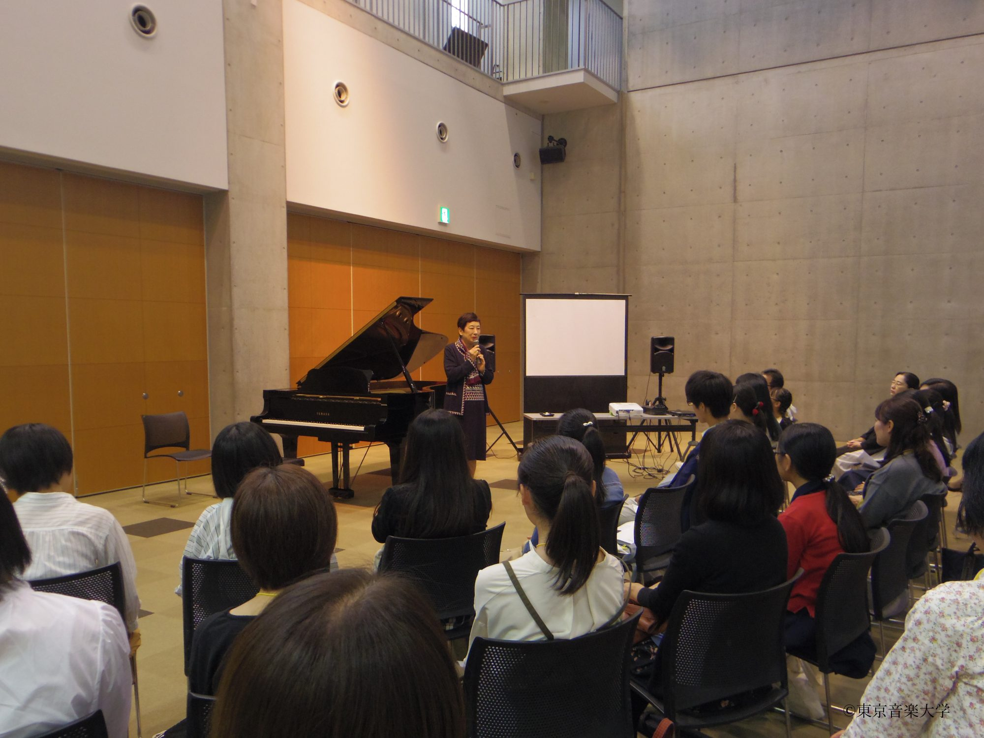 学校説明会&出張レッスン(ピアノ)in高松のレポートを掲載しました