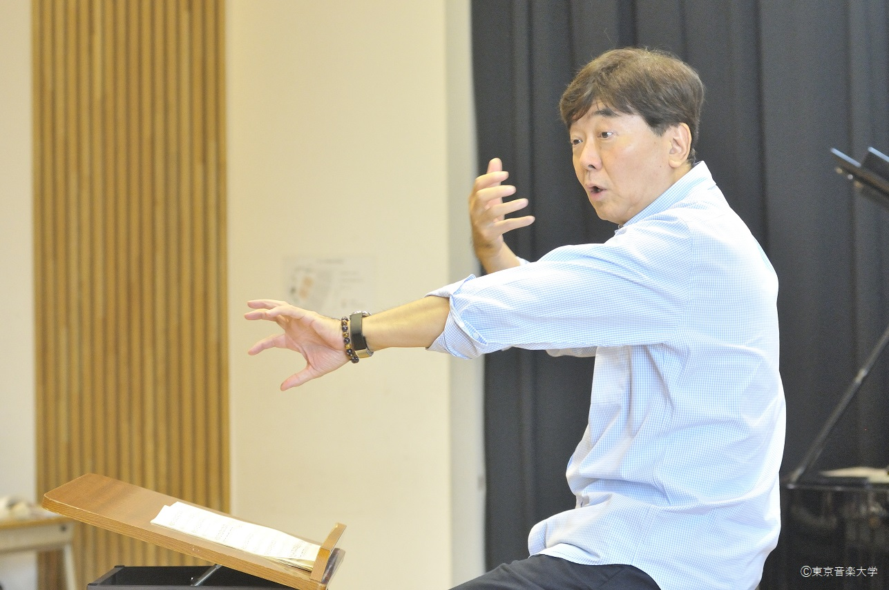 【授業紹介シリーズ「合唱」】 第1回 阿部純准教授