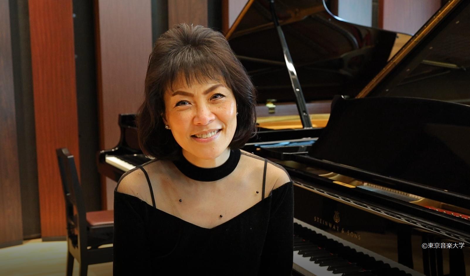 教員インタビューシリーズ 第3回 小川典子特任教授(ピアノ)を掲載しました