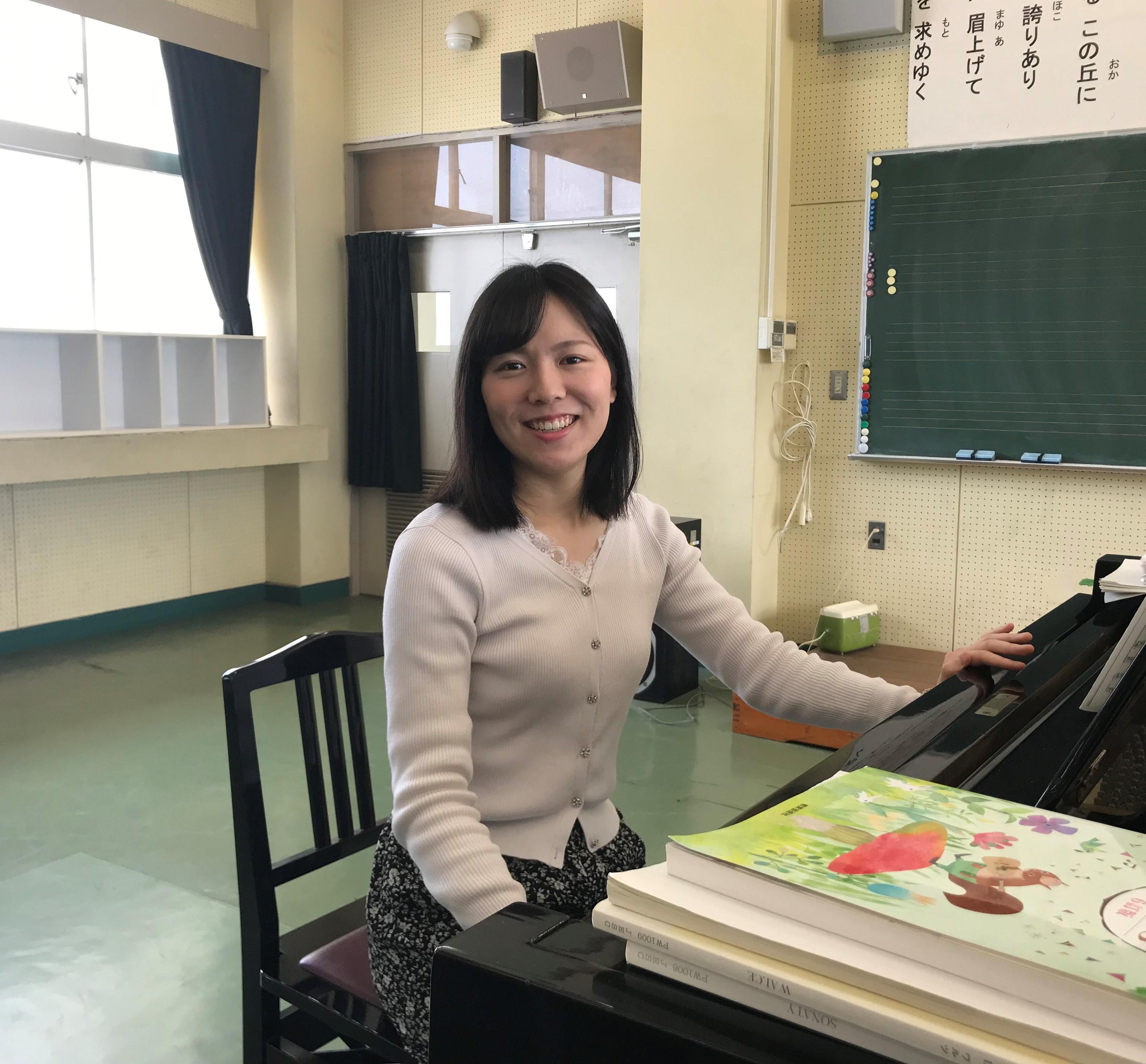棚澤衿香さん 高等学校教諭