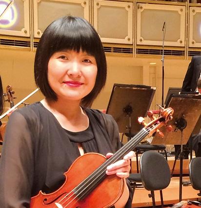 舟越末さん シカゴ交響楽団 ヴァイオリン奏者