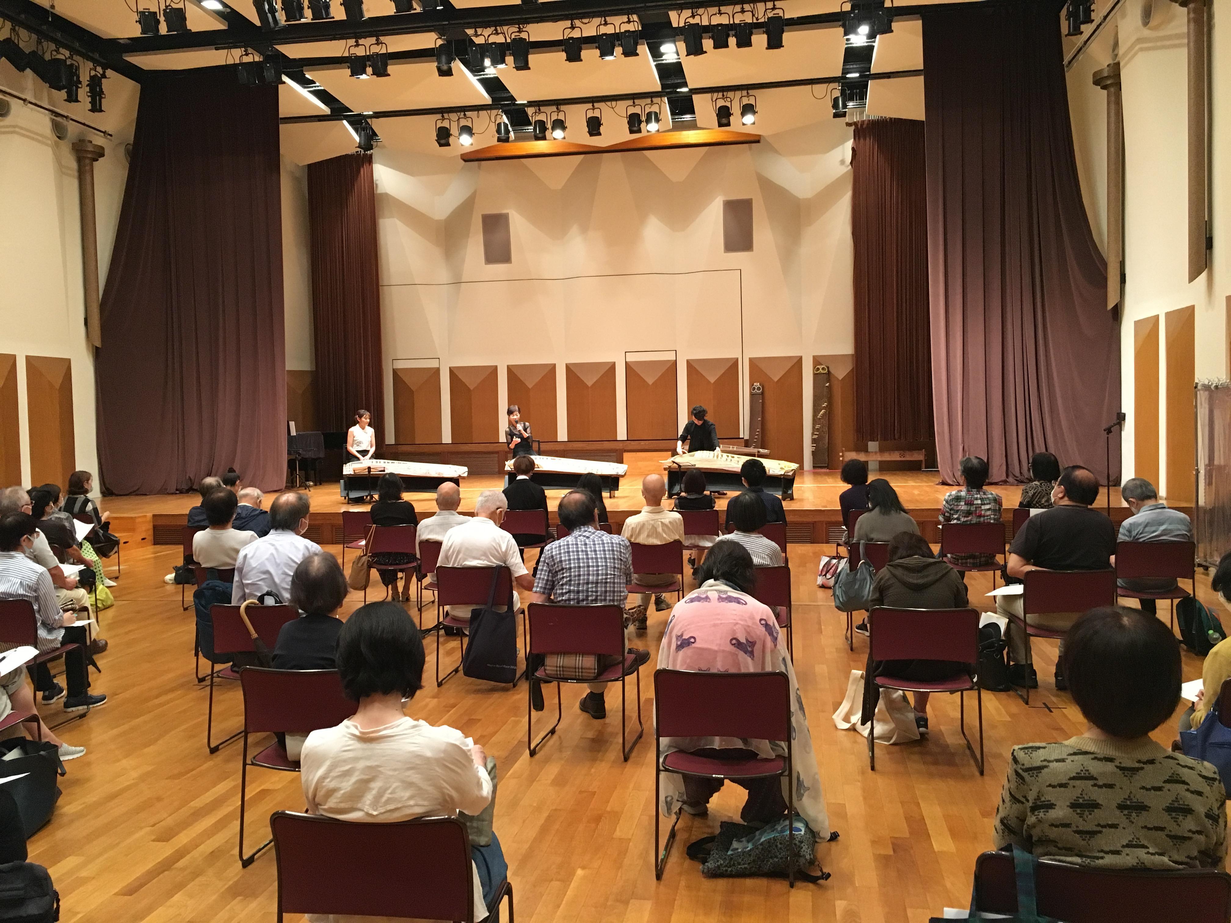 【社会連携】東京音楽大学×としまコミュニティ大学 「箏 古典~現代 -二十五絃箏に魅せられて-」