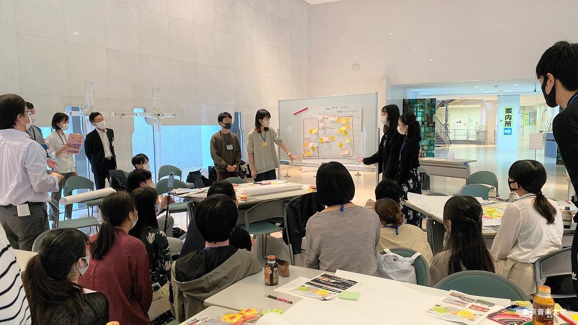 目黒区主催 目黒区民センターの将来を考える大学生ワークショップ