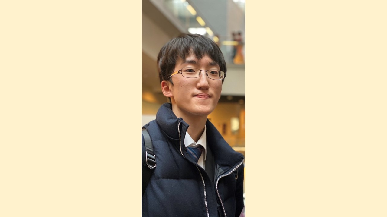 【新卒業生から新1年生へ ~熱いぜ、ザ・東京音大生~】第19回 前田健太郎さん