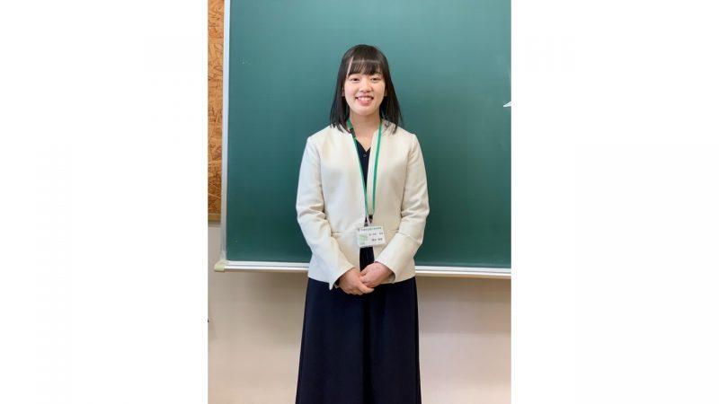 【新卒業生から新1年生へ ~熱いぜ、ザ・東京音大生~】第20回 橋本果音さんを掲載しました