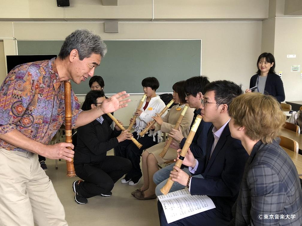 東アジア文化都市2019豊島パートナーシップ事業「楽器でつむぐ東アジアの未来」 ワークショップ「若手クリエータのための日本・中国・韓国の伝統楽器」
