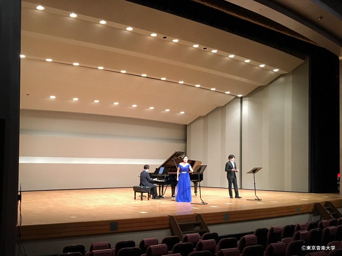 北本市文化センターacTrC 北本ネットワーク主催 第39回 東京音楽大学提携シリーズ 声楽コンサート