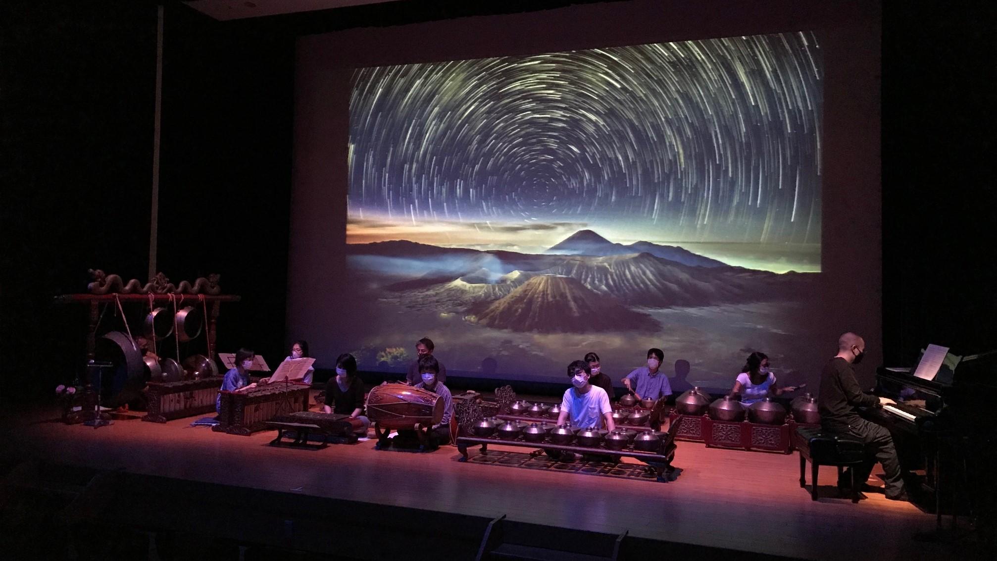 町田市の音楽イベントに、「東京音楽大学ジャワガムランオーケストラ」が出演しました